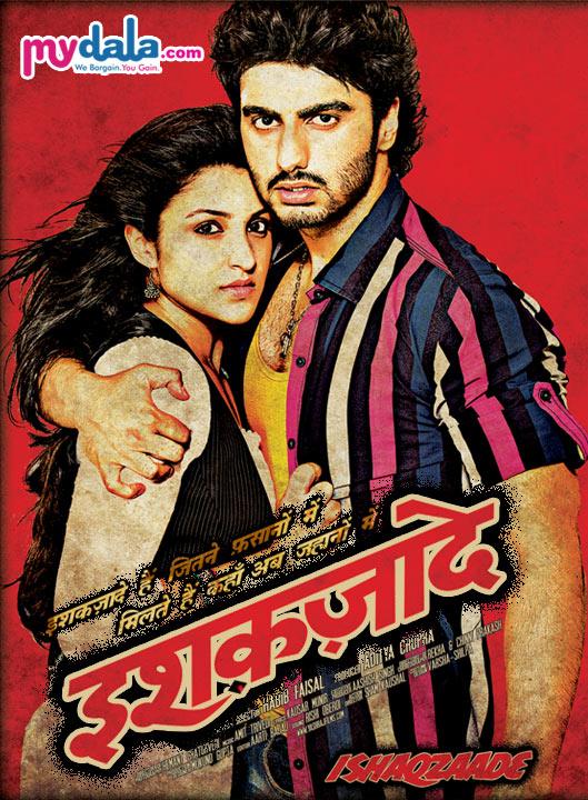 Book Ishaqzaade movie tickets online from mydala.com at discounted tickets cost, enjoy 2012 latest romantic movie- Ishaqzaade.