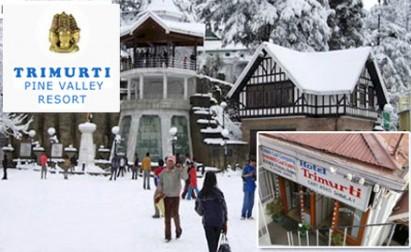 55% off on room tariff in Shimla