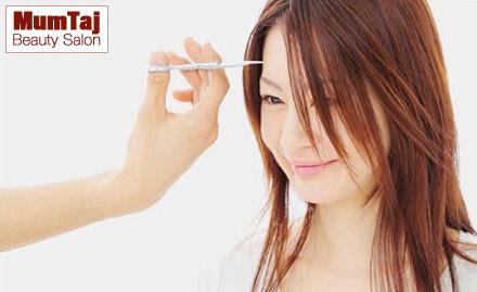 Mumtaj  Beauty Salon Valasaravakkam - Pay Rs. 1799 for Matrix hair rebonding, hair spa, haircut and blow dry worth Rs. 4000 for Ladies at MumTaj Beauty Salon. Straighten and strengthen your curly locks!