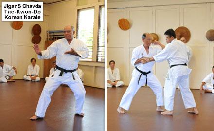 Jigar S. Chavda Tae-Kwon-Do Korean Karate