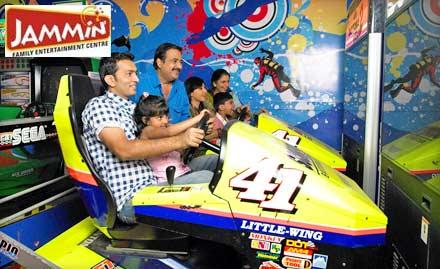 Jammin Recreation Pvt. Ltd. Fatehganj - Fun Unlimited! Get 75 min Arcade Gaming & 2 Rounds of Bumper Car at Rs. 249