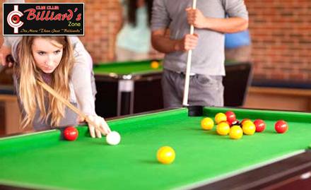 Cue Club Billiards Zone