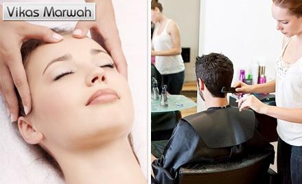 Vikas Marwah's Salon & Academy Andheri West - Rs. 449 for Advance Hair Repair Treatment!