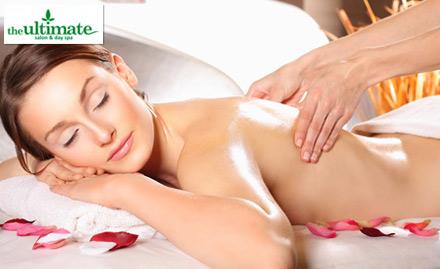 The Ultimate Salon & Day Spa Navrangpura - 50% off on Body Spa