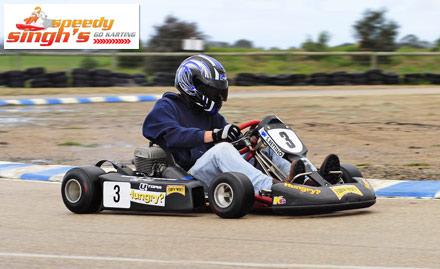 Speedy Singh'S Go Karting