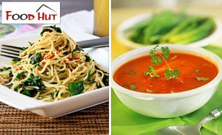 Food Hut Naroda - Enjoy buy 1 get 1 offer on pasta, maggi, soups or upma!