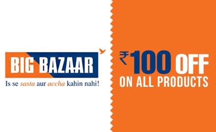 Coupon code for Big Bazaar