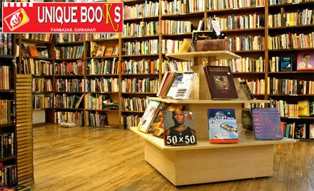 Unique Books Pan Bazaar - Get 15% off on books - engineering, management, novels & more