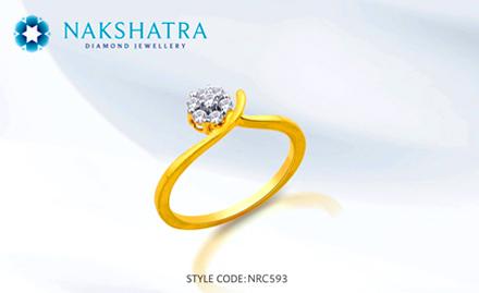 Gitanjali Jewels Nathupur, Gurgaon - Upto 25% off on diamond jewellery. Dazzle it up!