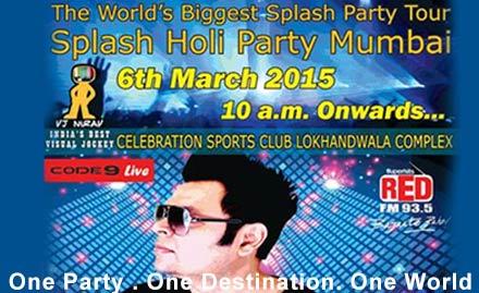 Splash Holi wid DJ Akhta