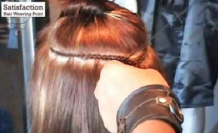 Satisfaction Hair Weaving Point
