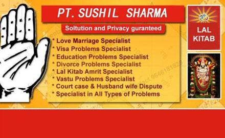 Astrologer Sushil Kumar Sharma