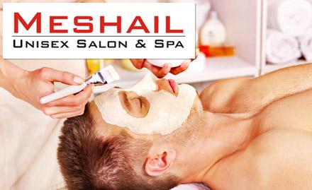 Meshail Unisex Salon & Spa