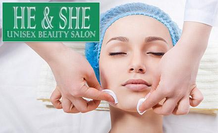 He & She Unisex Salon