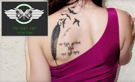 The Body Map Tattoo Studio