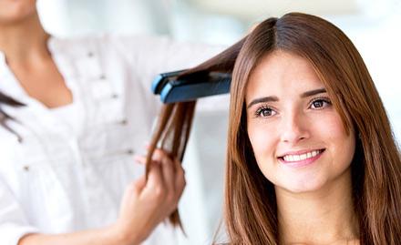 Silver Shine Family Salon Juhu - 30% off on straightening, rebonding, hair highlights and body polishing!