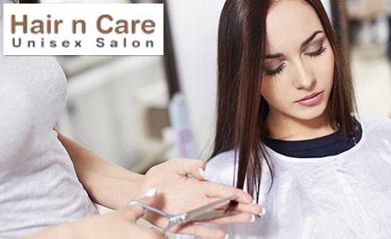 Hair n Care Unisex Salon Sector 29, Noida - Rs 2989 for Schwarzkopf hair rebonding, hair spa & haircut