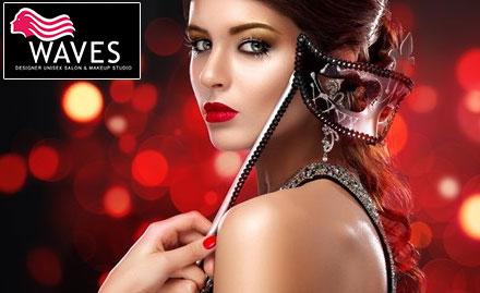Waves Designer Unisex Salon & Makeup Studio
