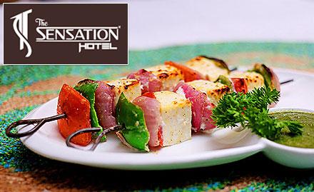Naivedhya - The Sensation Hotel Rajendra Nagar - 20% off on total bill!