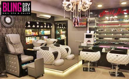 Bling Dry Bar Nail Spa And Salon