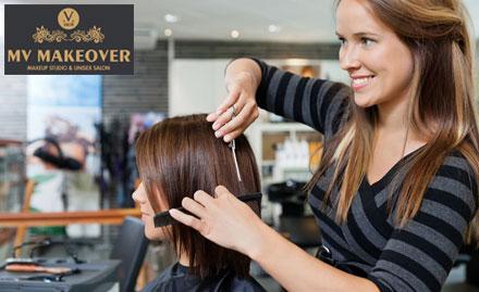 MV Makeover Makeup Studio & Unisex Salon Deal, Offer