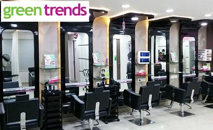 Green Trends Hair & Style Salon Kesavadaspuram - Get haircut in just Rs 99!