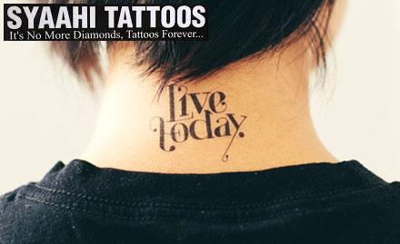 Syaahi Tattoos deal