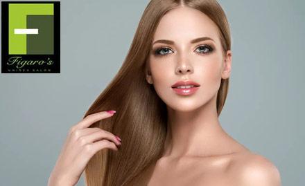 Figaro's Unisex Salon Deal, Offer