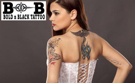 Bold N Black Tattoos Deal, Offer