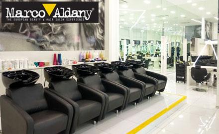 Marco Aldany Salon deal