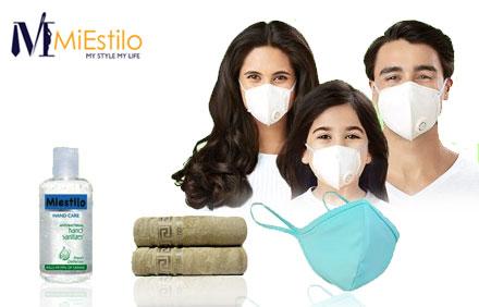 Buy 10 Litre Sanitizers & Get Jumbo Bamboo Bath Towel + 5% Cashback