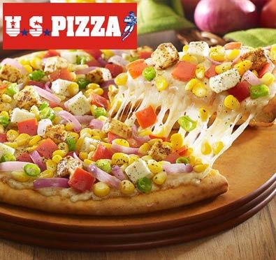 Buy 1 get 1 offer on medium pizza @ US Pizza