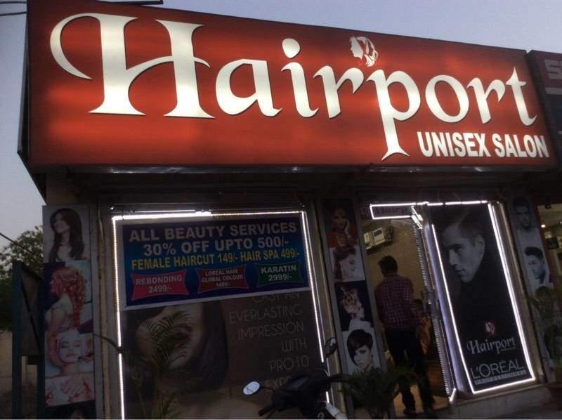Hairport Unisex Salon deal